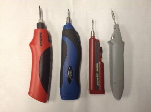 cordless soldering iron, battery operated soldering iron, Weller BP860MP, Master Appliance Micropro BT-30, Radioshack cordless soldering iron