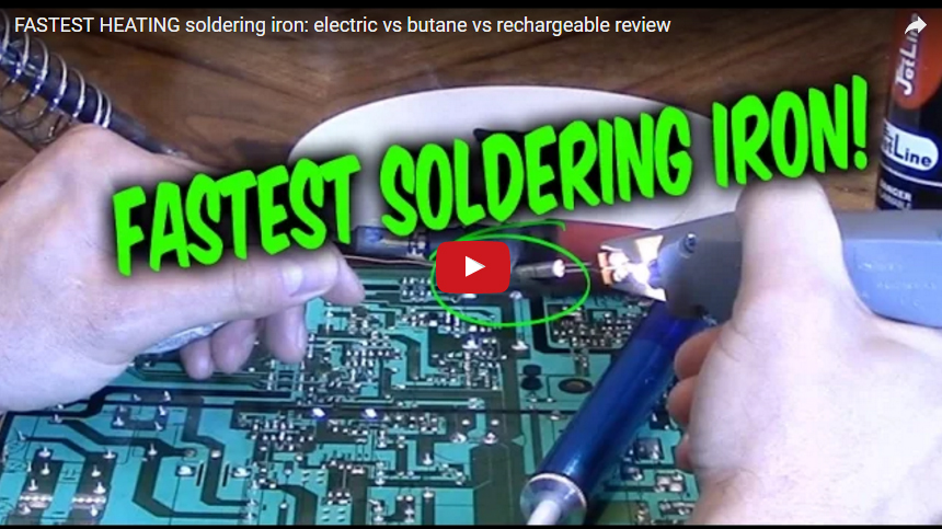 Compared to other soldering irons Iso-Tip comes out on Top!