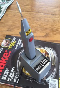 "Has quickly become his ""go-to"" tool for quick soldering jobs."